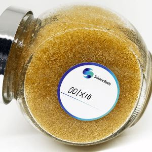 001x10 Food Grade Strong Acid Cation Exchange Resin